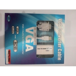 VGA TO HDMI CONVERTER KABEL NETLINE