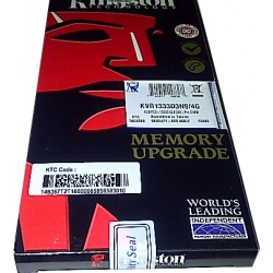DDR3 4 GB KINGSTON  PC10600/12800