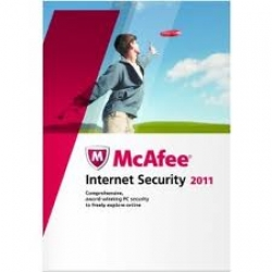 McAfee 3 user + internet security
